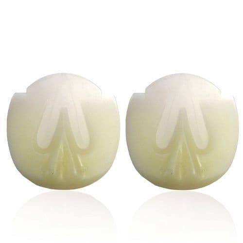 P.p. plastic wedge pad 8 mm